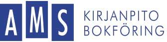 AMS kirjanpito bokföring logo